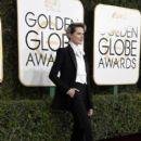 Evan Rachel Wood at The 74th Golden Globes Awards - arrivals - 400 x 600