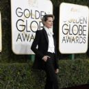 Evan Rachel Wood at The 74th Golden Globes Awards - arrivals