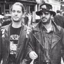 Jason Starkey and dad Ringo Starr, early 1990s