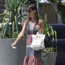 Lucila Sola in Long Dress – Out in Los Angeles - 454 x 681