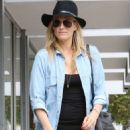 Molly Sims Out and About In Los Angeles