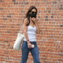 Katie Holmes – In denim running a few errands in SoHo