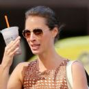 Christy Turlington Out In Chelsea