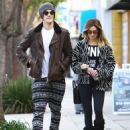 Ashley Tisdale and Christopher French are spotted out and about in Studio City, California on December 14, 2014