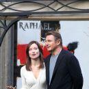 Liam Neeson and Olivia Wilde Film in Rome