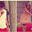 Taylor Swift and Will Anderson