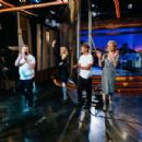 Christine Baranski, Claire Danes, Jack McBrayer on 'The Late Late Show with James Corden' in Los Angeles