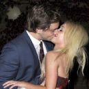 Jorgie Porter and James Atherton