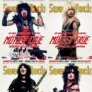 Tommy Lee, Vince Neil, Nikki Sixx, Mick Mars - Sweden Rock Magazine Cover [Sweden] (May 2015)