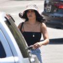 Vanessa Hudgens – Leaving a dry cleaner in Los Feliz