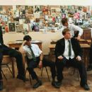 L to R: Dominic Cooper, Sacha Dhawan, James Corden, Andrew Knott and Samuel Anderson in The History Boys - 2006 - 376 x 232