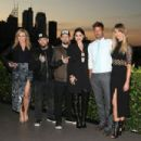 Benji Madden, Joel Madden, Jessie J, Ricky Martin and Delta Goodrem during the Voice Live Finals Show Launch on July 29, 2015 in Sydney, Australia