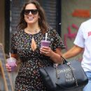 Ashley Graham in Long Dress – Out in NYC - 454 x 655