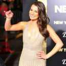 Lea Michele attending the Los Angeles premiere of New Year's Eve held at the Grauman's Chinese Theatre in Hollywood 12/05/2011