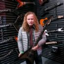 Musician Dave Mustaine attends the NAMM Show 2017 at Anaheim Convention Center on January 22, 2017 in Anaheim, California - 454 x 303