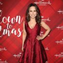 Lacey Chabert – 'Christmas at Holly Lodge' Screening in LA - 454 x 683