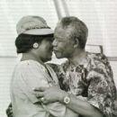 Winnie Mandela and Nelson Mandela - 454 x 419