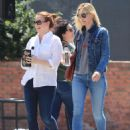 Alyson Hannigan and Leslie Bibb out for lunch in Studio City - 454 x 583