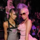 Amber Rose attends Nicki Minaj's 26th Birthday Party at Club Tao in Las Vegas, Nevada - December 9, 2010 - 411 x 600