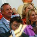 Johan Cruyff and Danny Coster