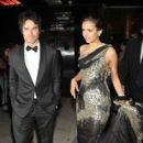Nina Dobrev and Ian Somerhalder at MET Costume Institute Gala - After Party (May 7)