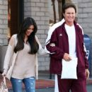 Kim Kardashian's Day Out with Daddy
