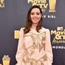 Aubrey Plaza – MTV Movie and TV Awards 2018 in Santa Monica - 454 x 682
