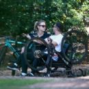 Mia Goth and Shia LaBeouf – Bike Ride in Pasadena