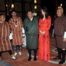 Catherine, Duchess of Cambridge and Prince William, Duke of Cambridge attend a reception