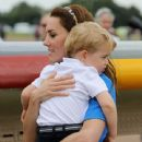 The Duke & Duchess of Cambridge Visit the Royal International Air Tattoo - 440 x 600