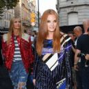 Alexina Graham – Arriving at Vogue Dinner Party in Paris - 454 x 681