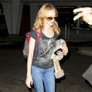Heather Graham - Arrives Into LAX Airport - July 29, 2010