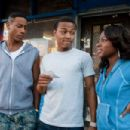 (L-r) BRANDON T. JACKSON as Benny, BOW WOW as Kevin Carson and NATURI NAUGHTON as Stacie in Alcon Entertainment's comedy 'LOTTERY TICKET,' a Warner Bros. Pictures release. Photo by David Lee - 454 x 302