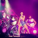 Katy Perry Performing At The Florida Citrux Bowl In Orlando
