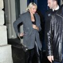 Cameron Diaz At The Givenchy Fashion Show