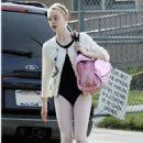 going to dance class