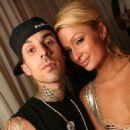 Travis Barker and Paris Hilton