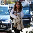 Maria Shriver spends time out and about in Brentwood, California on January 08, 2016 - 412 x 600