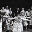 The Pajama Game.Original 1954 Broadway Cast Starring John Raitt,Janis Paige, - 454 x 256