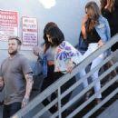 Selena Gomez leaves Nine Zero hair salon in West Hollywood, California on July 13, 2016 - 454 x 582