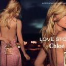 Clémence Poésy for Chloé Love Story Fragrance 2014 Ad Campaign