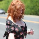Christina Hendricks – InStyle Day of Indulgence Party in Brentwood