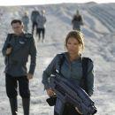Jolene Blalock as Captain Lola Beck in Starship Troopers 3: Marauder - 400 x 258