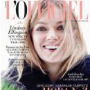 Lindsay Ellingson - L'Officiel Magazine Cover [Turkey] (September 2015) - 454 x 592