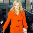 Amanda Holden - Leaving BBC Studios In London (02.12.09)