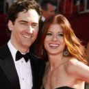 Daniel Zelman and Debra Messing
