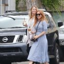 Isla Fisher at a Iced Coffee in Los Angeles May 18, 2017 - 454 x 545