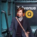 Scarlett Johansson – Filming new film in NY - 454 x 657