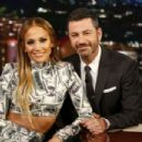 Jennifer Lopez – Visits 'Jimmy Kimmel Live!' in Los Angeles - 454 x 303