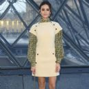 Nina Dobrev attends the Louis Vuitton show as part of the Paris Fashion Week Womenswear Fall/Winter 2019/2020 on March 05, 2019 in Paris, France